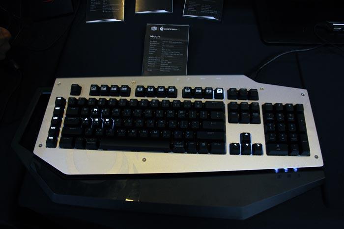 Computex 2013. Cooler Master. Mech, el nuevo teclado mecánico ya en versión final, Imagen 2