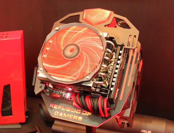 Computex 2013. ASUS. Maximus VI Impact. La primera placa ROG en formato Mini-ITX, Imagen 3