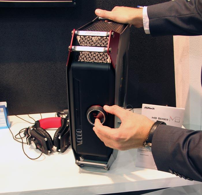 Computex 2013. ASRock. M8, un mini PC de alto rendimiento, Imagen 3