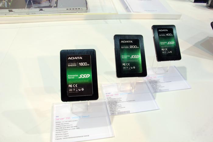 Computex 2013. ADATA. SSD SATA y PCI Express, Imagen 1