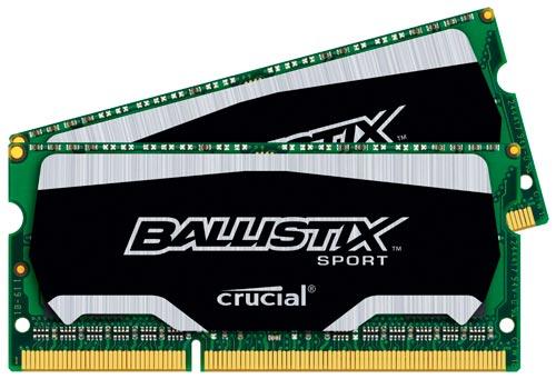 Crucial Ballistix Sports, memorias SODIMM de bajo consumo y alto rendimiento, Imagen 1