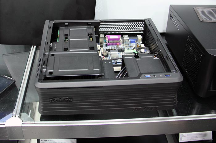 Computex 2013. SilverStone. La gama de torres Raven incorpora un modelo Mini-ITX, Imagen 1
