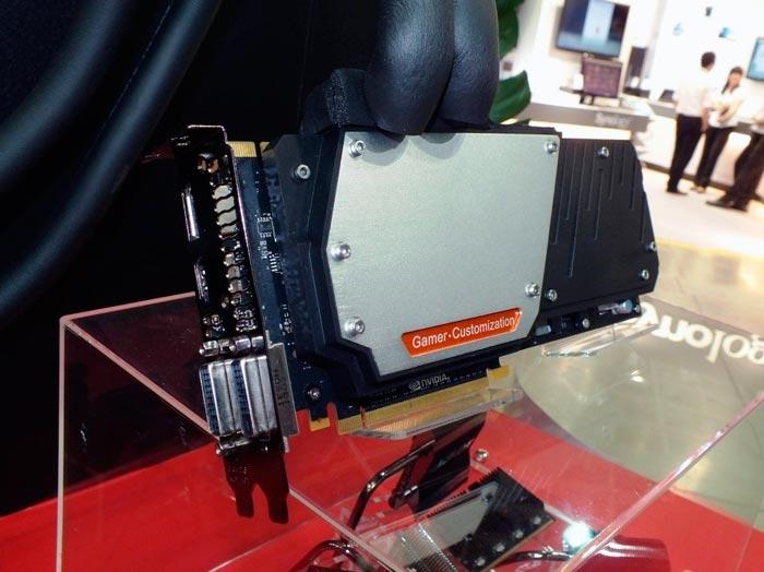 Colorful muestra una GTX TITAN con refrigeración extrema por cambio de fase, Imagen 1