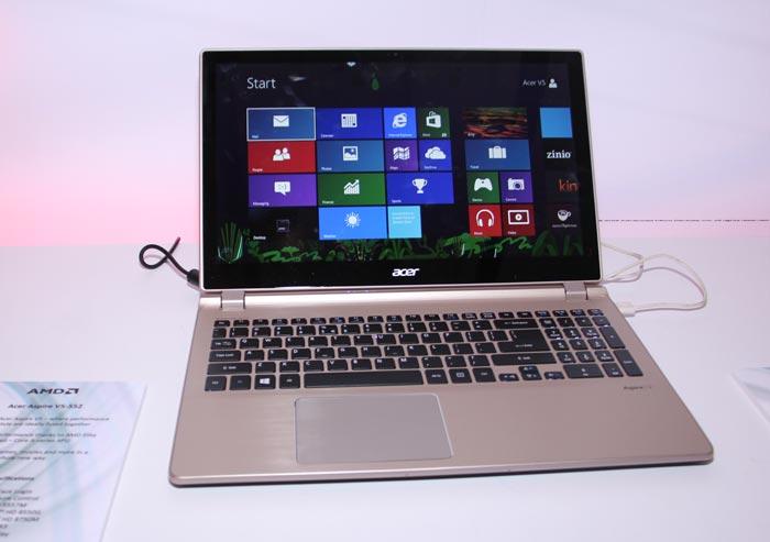 Computex 2013. AMD. Dispositivos con las nuevas APU y entrevista con Michelle Wells, Imagen 1