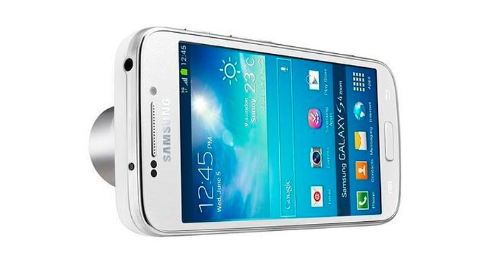 Samsung Galaxy S4 Zoom, Smartphone por un lado, cámara digital por otro, Imagen 2
