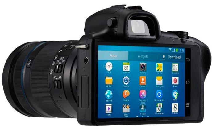 Samsung Galaxy NX, cámara sin espejo y con objetivos intercambiables con Android, Imagen 2