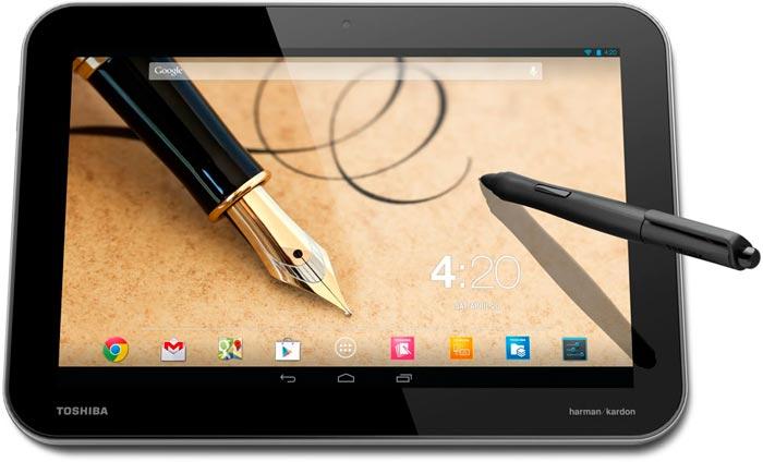 Toshiba presenta sus tables Excite Pro y Excite Write con Tegra 4 en su interior, Imagen 2