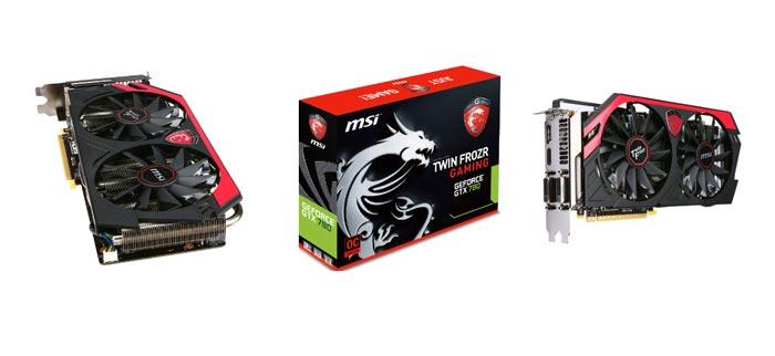 MSI GeForce GTX 780 Gaming con overclock de serie, Imagen 1