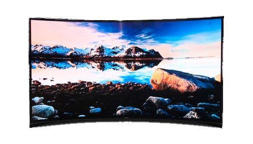 Samsung lanza en Corea del Sur su televisor curvado con tecnología OLED, Imagen 1