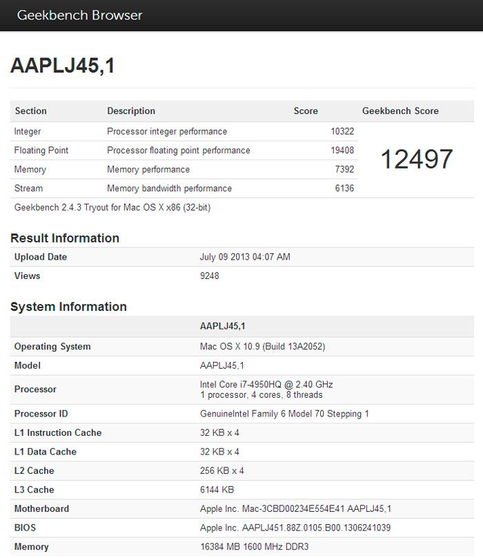 Apple está preparando nuevos modelos de MacBook Pro con procesadores Intel Haswell, Imagen 1
