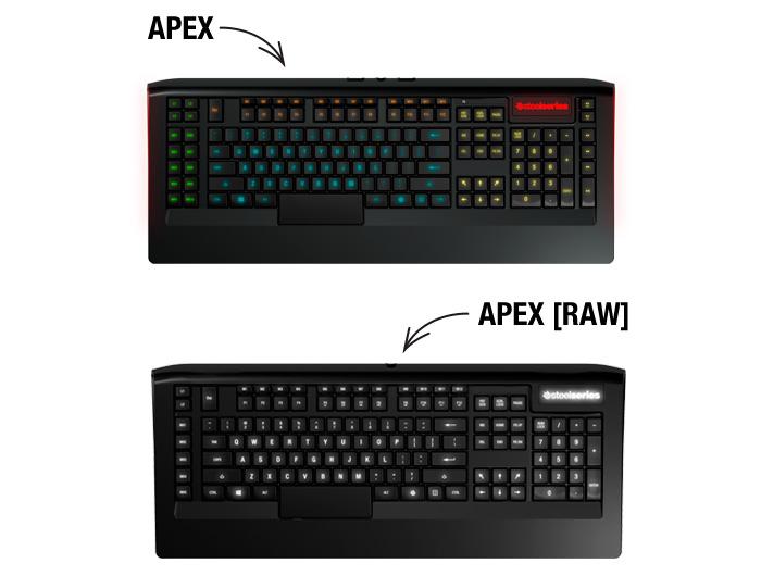 SteelSeries Apex, llega un nuevo teclado gaming con retroiluminación personalizable, Imagen 2