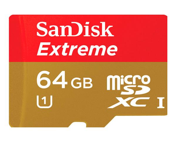SanDisk Extreme , tarjetas microSD de alta velocidad, Imagen 2
