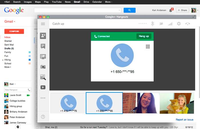 Ya disponible la función de llamadas VoIP por Internet en Hangouts de Google, Imagen 1