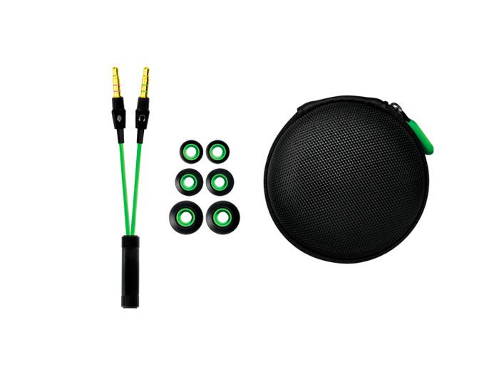 Auriculares Hammerhead, Razer se suma a los auriculares in-ear para jugadores, Imagen 2