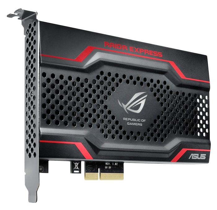 Ya disponible el ASUS RAIDR, un SSD de alto rendimiento por PCI-Express, Imagen 1