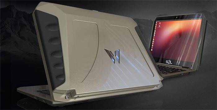 Sol laptop. 10 horas de autonomia con 2 horas al sol, Imagen 2