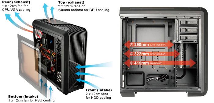 Enermax lanza la serie iVektor de torres gaming y de alto rendimiento, Imagen 2