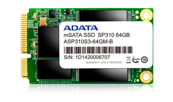 ADATA Premier PRO SP310, SSDs en formato mSATA con precios equilibrados, Imagen 1