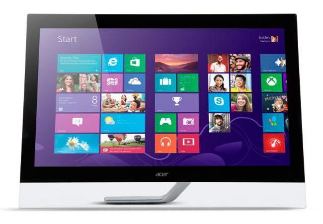 Nuevos monitores de Acer de alta resolución, Imagen 1