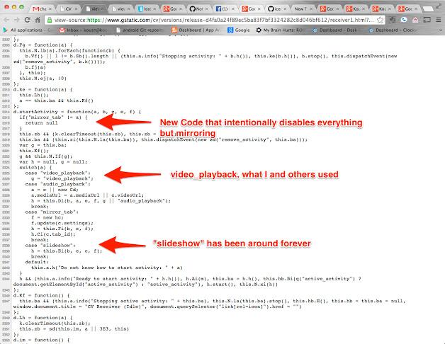 Google bloquea cualquier posibilidad de streaming de contenidos en red local del Chromecast, Imagen 2