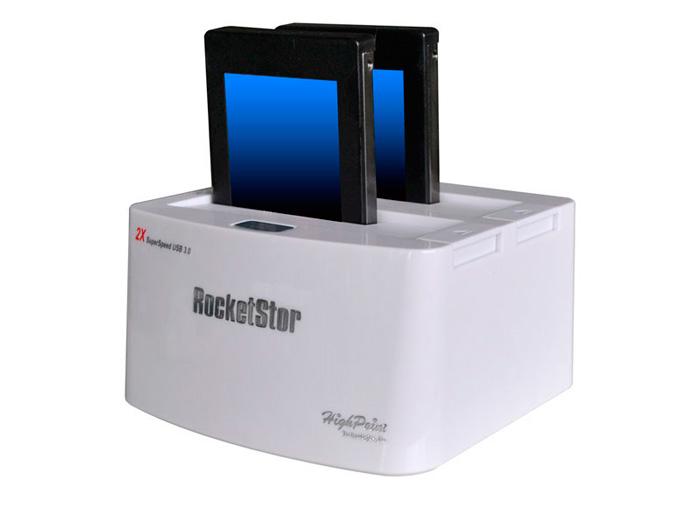 HighPoint RocketStor 5422, un nuevo dock USB 3.0 para discos duros SATA 6 Gpbs, Imagen 1