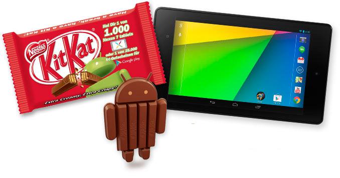 Google llega a un acuerdo con Nestle y su próxima versión de Android se llamará KitKat, Imagen 1