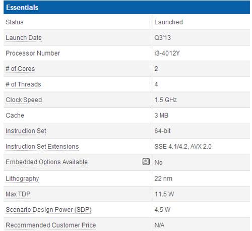 IDF 2013. Intel introduce la arquitectura Haswell en un procesador para tablets, Imagen 1