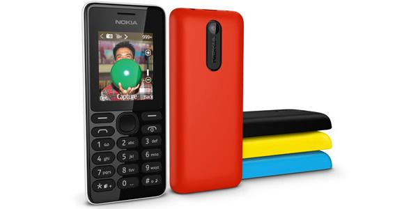 Nokia 108, un teléfono móvil sencillo por 29 Dólares, Imagen 1