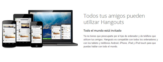 Hangouts, el servicio de mensajería instantánea de Google, envía mensajes a contactos no deseados, Imagen 1