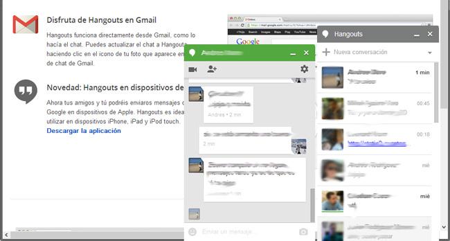 Hangouts, el servicio de mensajería instantánea de Google, envía mensajes a contactos no deseados, Imagen 2