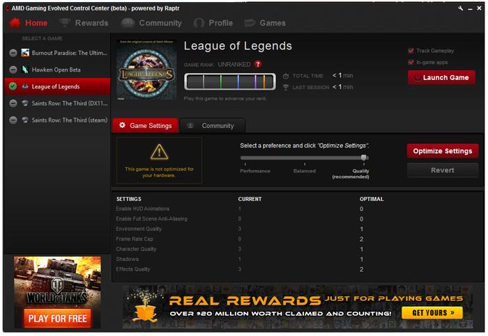 Ya disponible AMD Gaming Evolved App para optimizar automáticamente los juegos con gráficas Radeon, Imagen 1