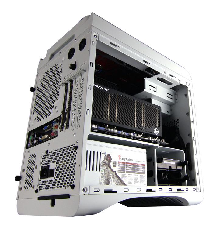Aerocool Dead Silent Cube, nueva torre micro ATX para ordenadores gaming, Imagen 2