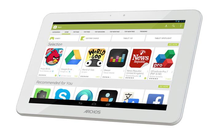 Archos lanza unna nueva serie de tablets económico con procesador de cuatro núcleos , Imagen 2