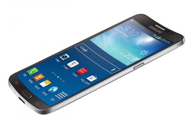 Galaxy Round, Samsung presenta oficialmente su primer teléfono con pantalla curvada, Imagen 1