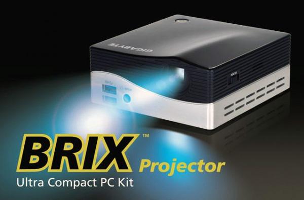 Gigabyte BRIX Projector, curioso mini PC con proyector incorporado, Imagen 1