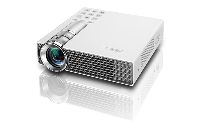 ASUS P2B, proyector portátil con batería y reproductor multimedia, Imagen 1