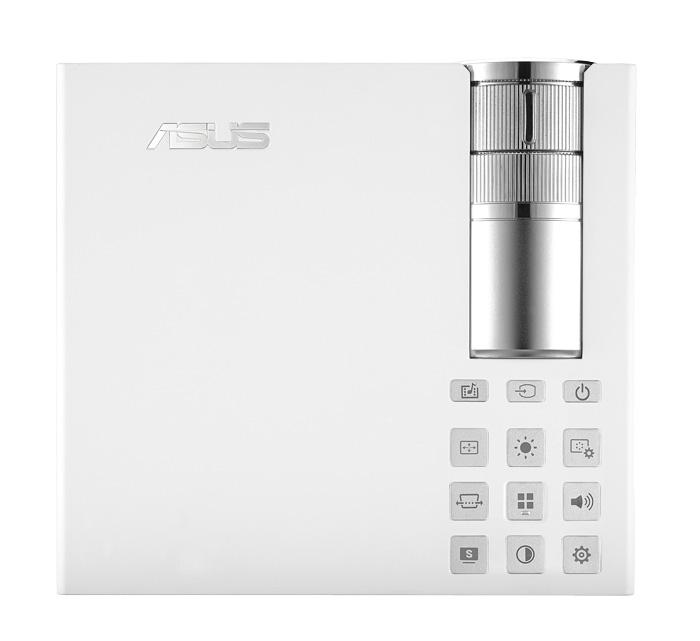 ASUS P2B, proyector portátil con batería y reproductor multimedia, Imagen 2