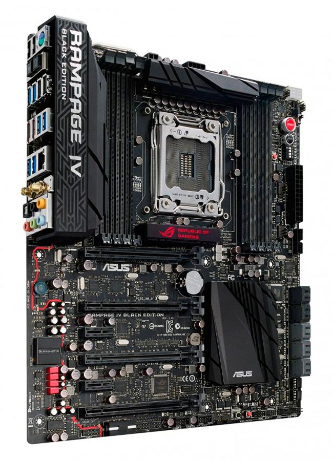 ASUS lanza oficialmente la placa base ROG Rampage IV Black Edition, Imagen 1