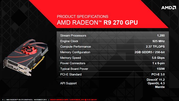 AMD presenta las nuevas Radeon R9 270, Imagen 1