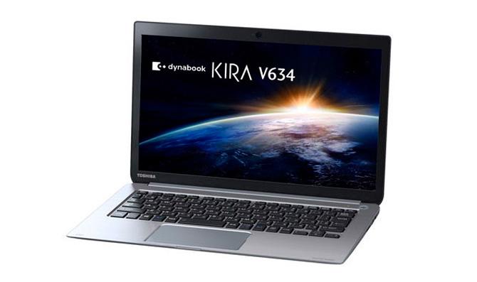 Toshiba Dynabook  KIRA V634, nuevo ultrabook con 22 horas de autonomía, Imagen 1