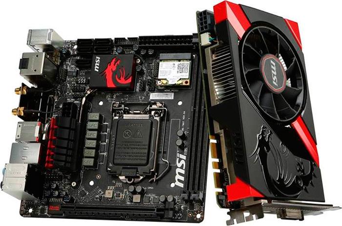 MSI muestra una placa base y una gráfica para equipos Gaming Mini-ITX, Imagen 1