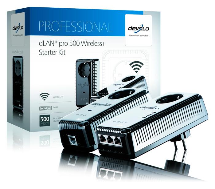 Devolo dLAN pro 500 Wireless+, PLC para entornos profesionales, Imagen 1