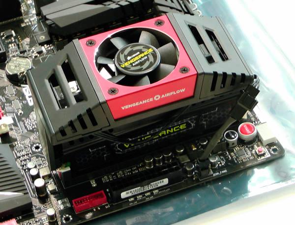 Nuevos ventiladores para memorias RAM Corsair Vengeance Airflow, Imagen 2