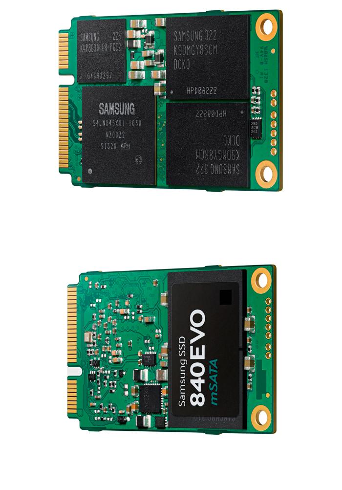 Samsung 840 EVO, llegan los primeros SSD de 1 TB en formato mSATA, Imagen 1