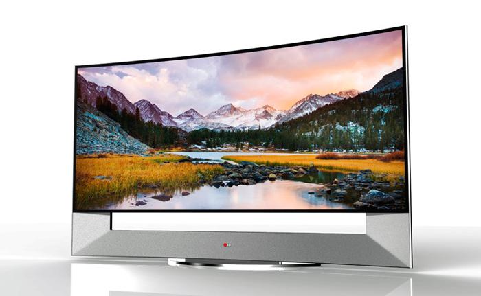 LG 105UB9, nueva TV con panel curvado de 105 pulgadas y resolución 4K, Imagen 1