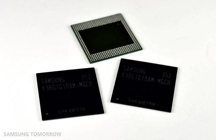 Samsung ya tiene preparados chips de 8 Gb de memoria DDR4 de bajo voltaje, Imagen 1