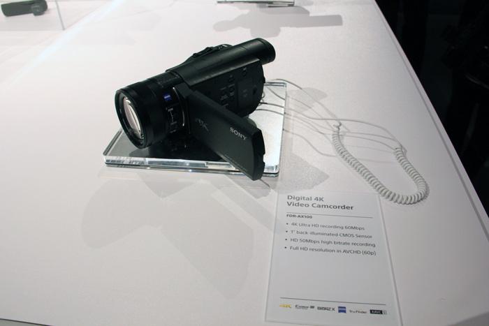 Sony Handycam AX100E 4K, la videocámara más pequeña con grabación 4K, Imagen 2