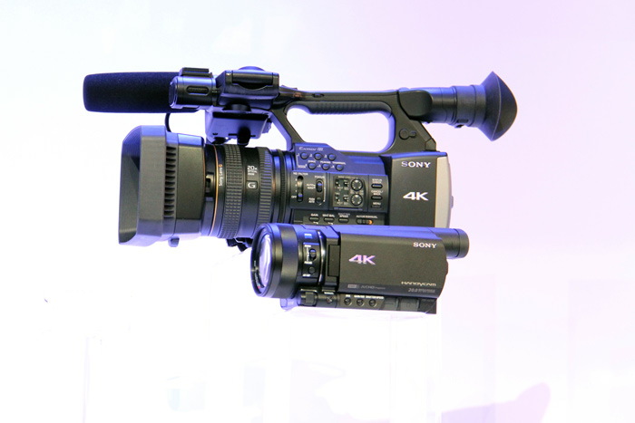 Sony Handycam AX100E 4K, la videocámara más pequeña con grabación 4K, Imagen 3