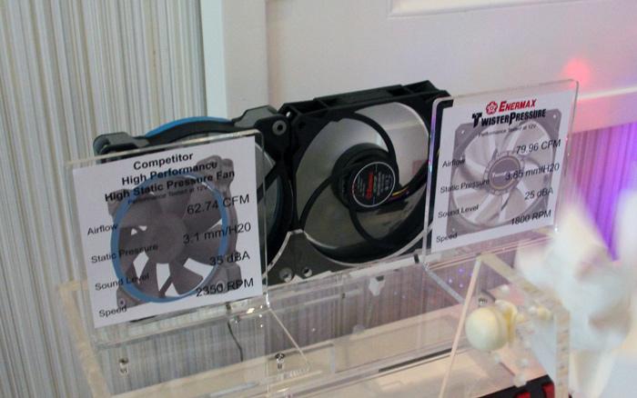 Enermax TwisterPressure, ventiladores con alto flujo de aire a bajas RPM, Imagen 1