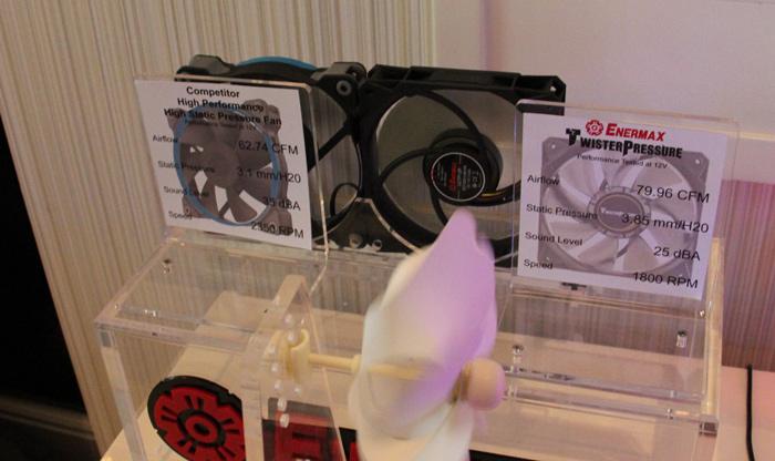 Enermax TwisterPressure, ventiladores con alto flujo de aire a bajas RPM, Imagen 2